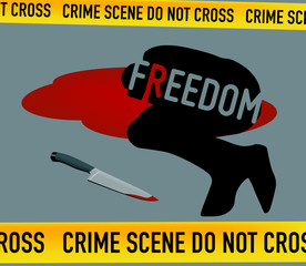 Crime Scene: Freedom is Dead