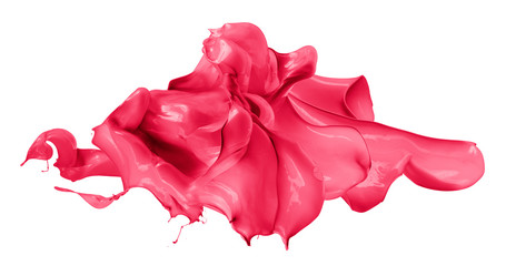 Isolated shot of paint splashing © Irochka