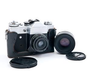 Retro-styled camera