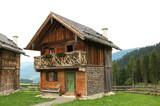 Berghütte seitlich