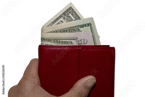 Wallet US dollar