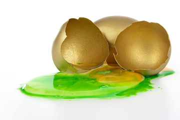 Corrupted gold egg