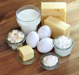 Milchprodukte, Eier