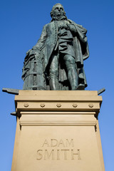 Adam Smith Monument, Edinburgh, Scotland