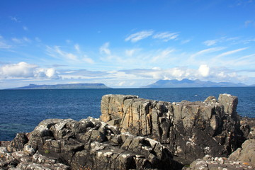 The Small Isles from Mallaig.