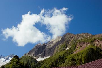 Caucasus Mountains. Region Dombay.