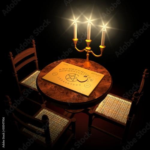 Witchboard Channeling bei Kerzenschein 01