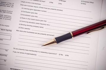 Business Questionnaire Work Sheet