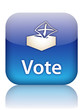 """""""VOTE"""" Web Button (like share internet social network recommend)"""