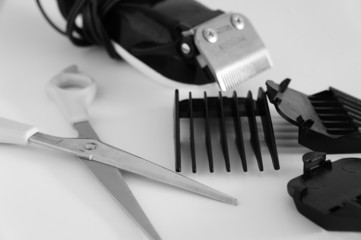 salon/barber tools