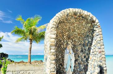 Saint Maria on a Rock