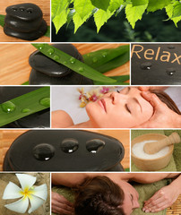 "Collage ""Wellness"""