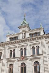 The city center of Uppsala