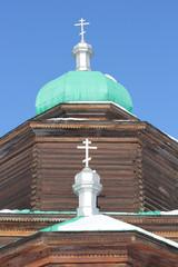Никольская церковь в Этнографическом музее,г.Улан-Удэ,фрагмент.