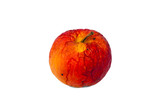 Old red rotten apple. poster
