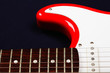 Red guitar part
