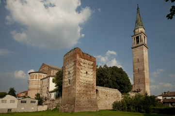 Cologna Veneta, castle and walled city