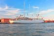 Big sailing boat in Venice