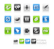 Social Media // The vector file includes 4 colors