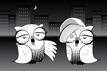 Urban Hoot Owls Rapping