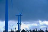 renewable energy, wind turbine poster