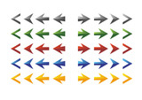 Simple color arrows
