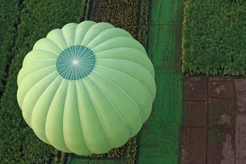 Grüner Ballon