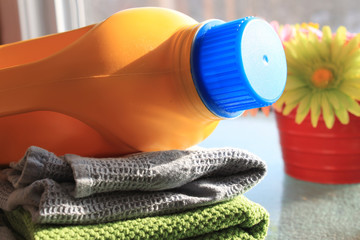 Laudry and detergent bottle