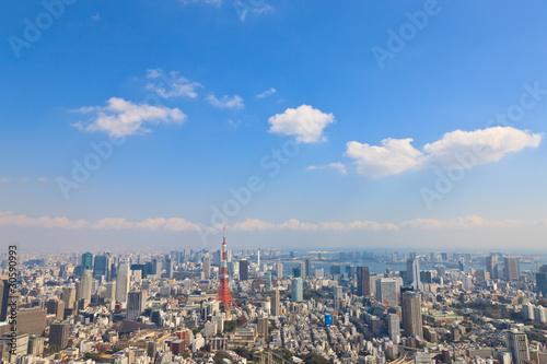 東京のオフィス街