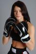 boxeuse brune 19