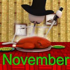 Stickman November