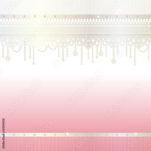 pearl and lace background