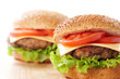 Two cheeseburgers