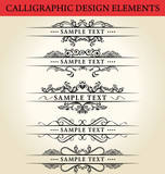 kaligrafické prvky návrhu