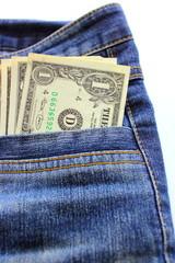 Blue jeans money