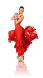 Fototapety Latino dancer in action