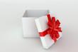 Opened giftbox