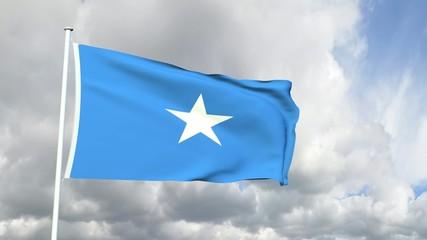 170 - Somalische Flagge