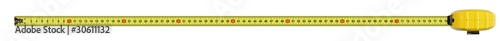 Tape measure - Super high resolution. Perfect focus 68 Mpx