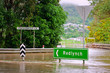 Flooded roundabout and bridge in Queensland, Australia - 30611972