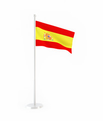 3D flag of Spain