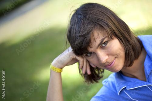 jeune fille, femme, mode, modèle, charme, adulte, sourire