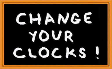 reminder for daylight savings time