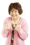 Cross Dresser - Two Thumbs Up poster