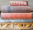 Antique Leatherbound Books