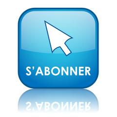 Bouton Web S'ABONNER (abonnement inscription s'inscrire curseur)