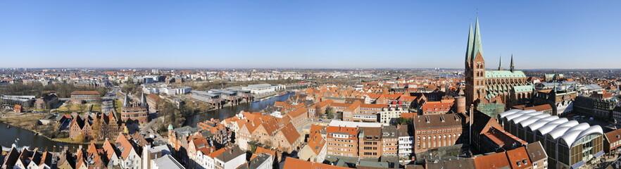 Lübeck Altstadt Panorama