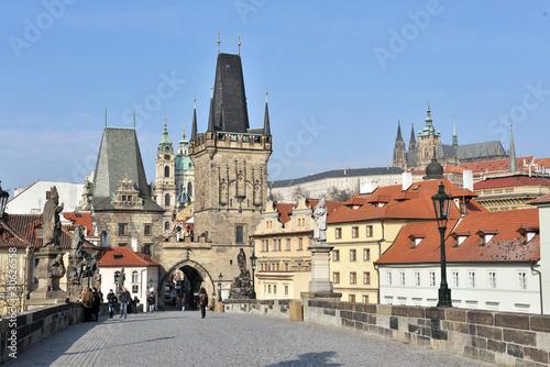 Aluminium Praag Karlsbrücke Prag mala Strana
