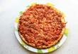 pizza mozzarella ,lardons