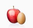 Apfel und Ei